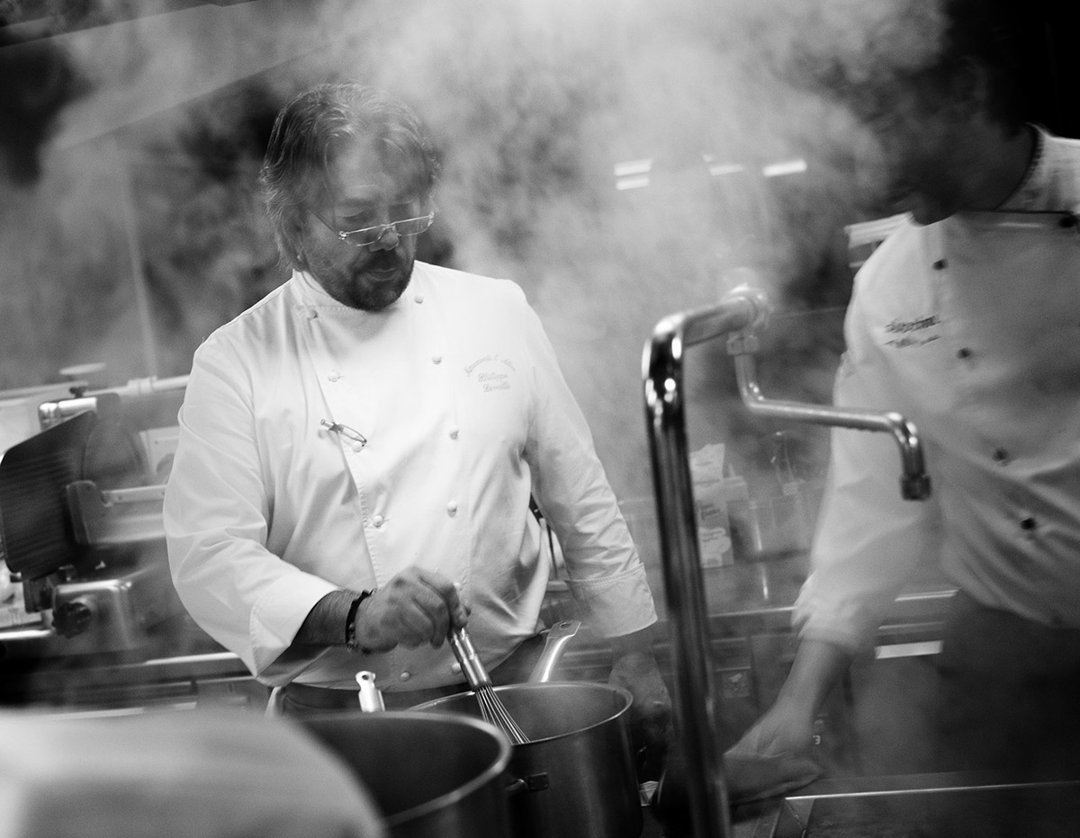 Philippe Lèveillè - Fish & chef- 2012 - Ambient Hotel Primaluna - Malcesine
