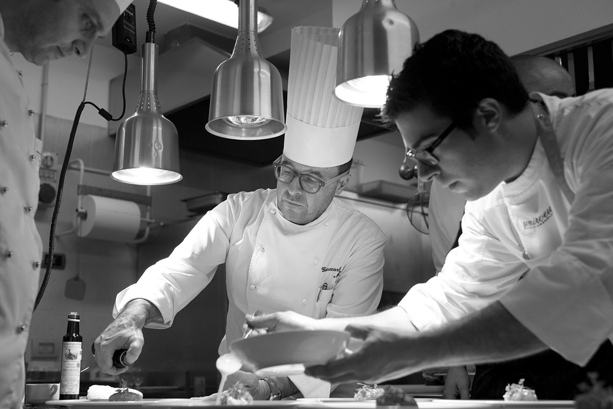 Giancarlo Morelli Fish & chef- 2012 - Hotel Baia Verde - Malcesine