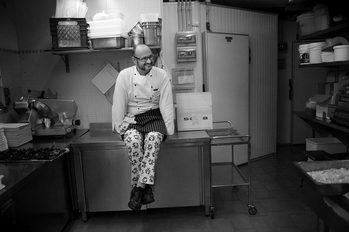 Renato Rizzardi - Fish & chef- 2012 - Hotel Capri -Malcesine