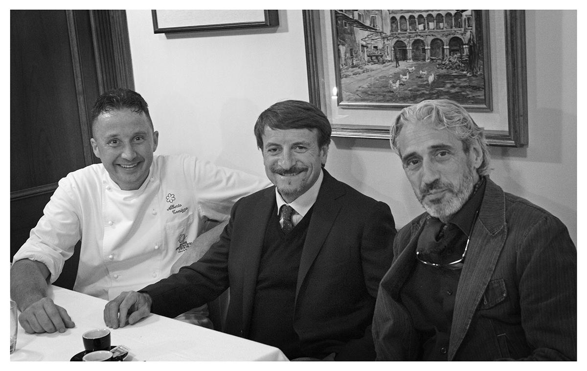 Alberto Tonizzo Fish & chef- 2014 - Hotel Regina Adelaide - Garda