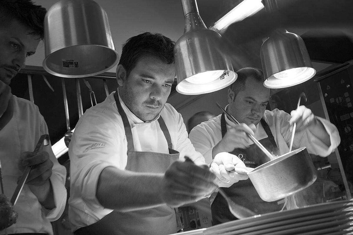 Felice Lo Basso Fish & chef- 2014 - Hotel Baia Verde - Malcesine