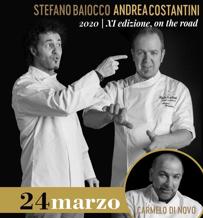 Martedì 24 marzo:Stefano Baiocco (Villa Feltrinelli**, Gargnano - BS) e Andrea Costantini (Regio Patio, Garda - VR)