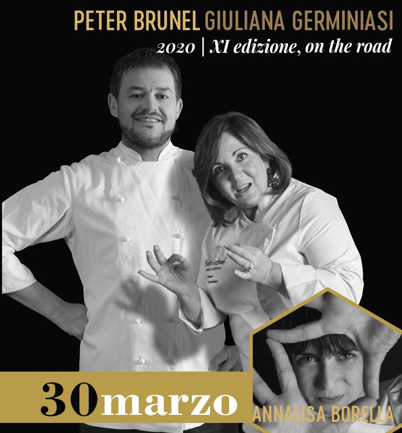 Lunedì 30 marzo: Peter Brunel (Peter Brunel, Arco - TN) e Giuliana Germinasi (Capriccio*, Manerba del Garda - BS)